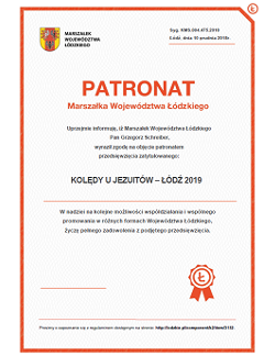 Patronat Marszałka Województwa Łódzkiego