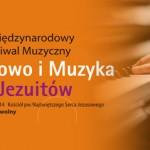 """PROGRAM V MIĘDZYNARODOWEGO FESTIWALU """"SŁOWO I MUZYKA U JEZUITÓW"""" ŁÓDŹ 2014"""