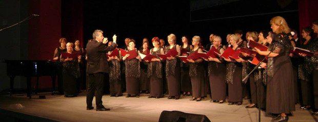 Stowarzyszenie Śpiewacze HARMONIA pod dyrekcją Jerzego Rachubińskiego