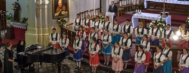 The Girl's Choir of Kossuth Lajos Secondary School